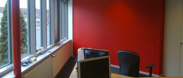 Binnen schilderwerk kantoorpand